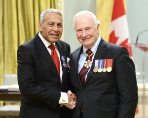 Ivan de Souza at Rideau Hall